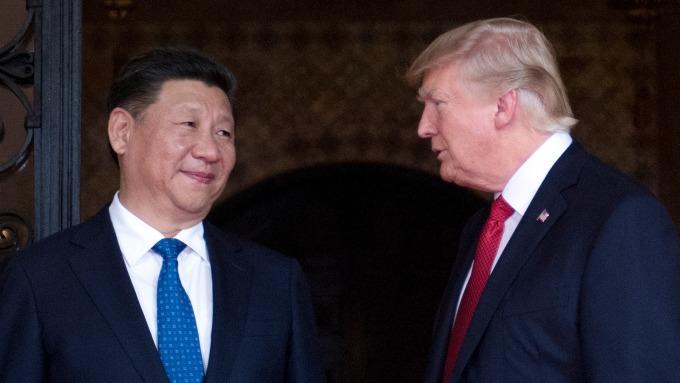 美中貿易戰情勢升溫。(圖:AFP)