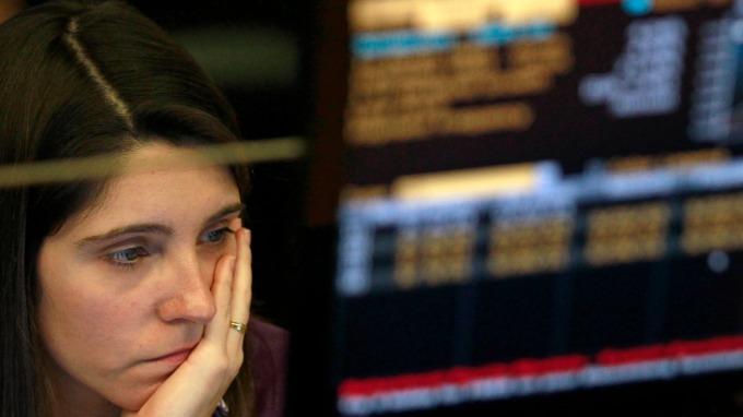 圖:AFP  歐洲股市週三大幅下跌