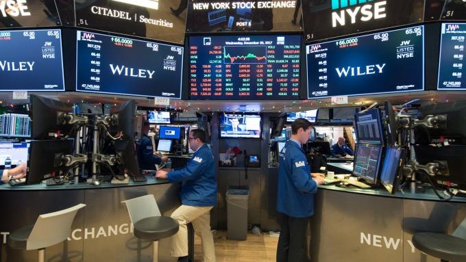 圖:AFP  貿易戰擔憂升高 美國股市週三大幅收低