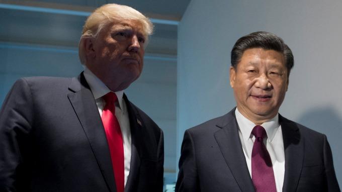 傳中美高層貿易談判停擺(圖:AFP)