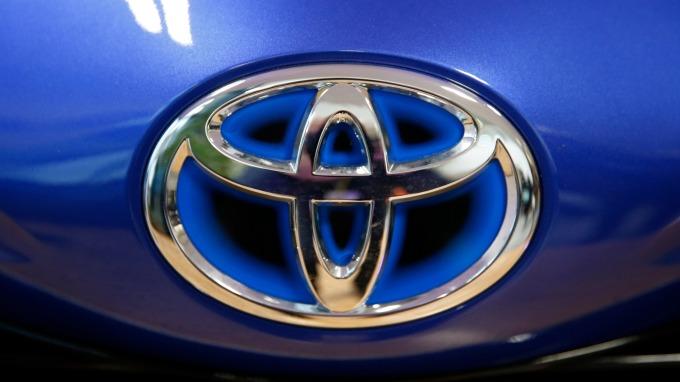 豐田汽車Logo(圖:AFP)