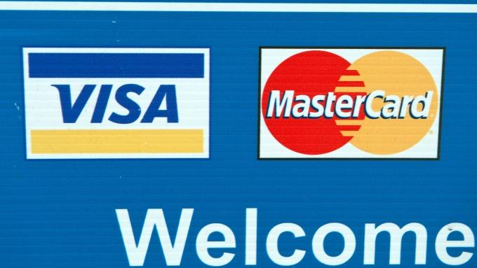 Visa與Mastercard公司(圖:AFP)