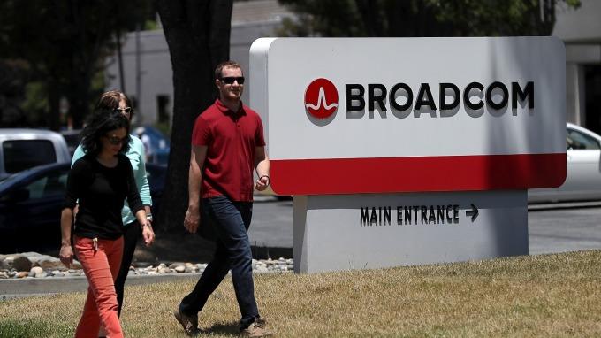 博通擬189億美元現金收購軟體公司CA。(圖:AFP)
