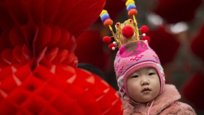傳中國正在研究獎勵生育的可能性(圖:AFP)