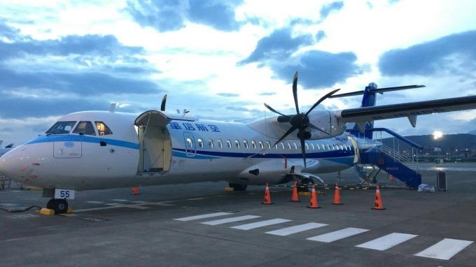華信首架自購的ATR新機將投入澎湖航線。(圖:華信提供)