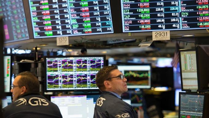 圖:AFP  美國指數期貨盤前上漲