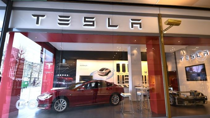 特斯拉電動車在美國的銷量已經達到20萬輛。(圖:AFP)