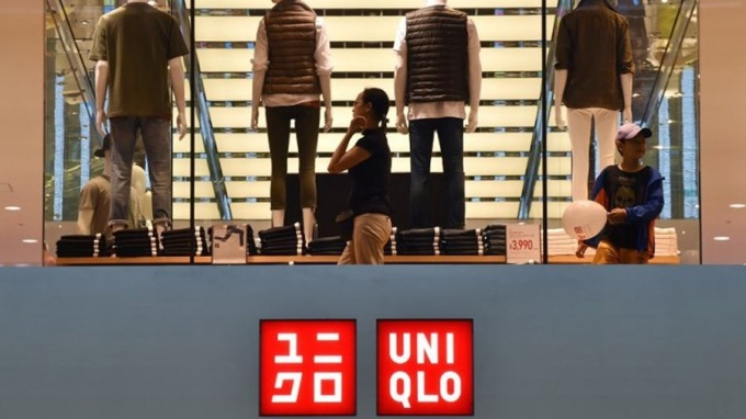 UNIQLO母公司迅銷公佈首3季多賺23.5%。 (圖:AFP)