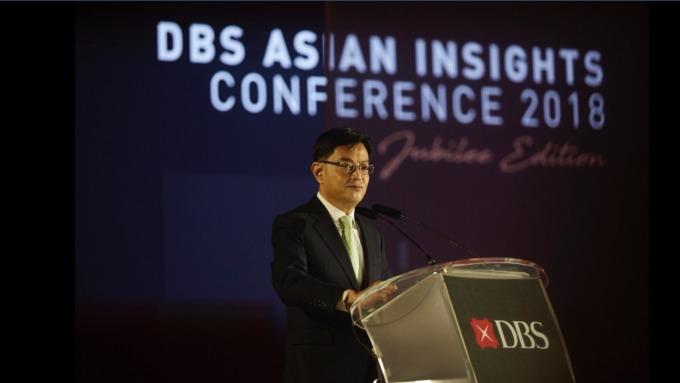 新加坡財政部長王瑞杰(Heng Swee Keat)。(圖:星展銀提供)
