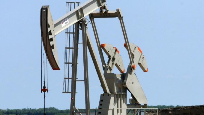 圖:AFP  原油期貨週五收高 本週則下跌