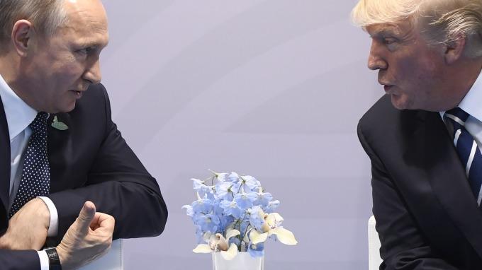 川普與普丁即將舉行峰會。(圖:AFP)