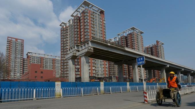 中國6月二線城市房價持續上漲(圖:AFP)