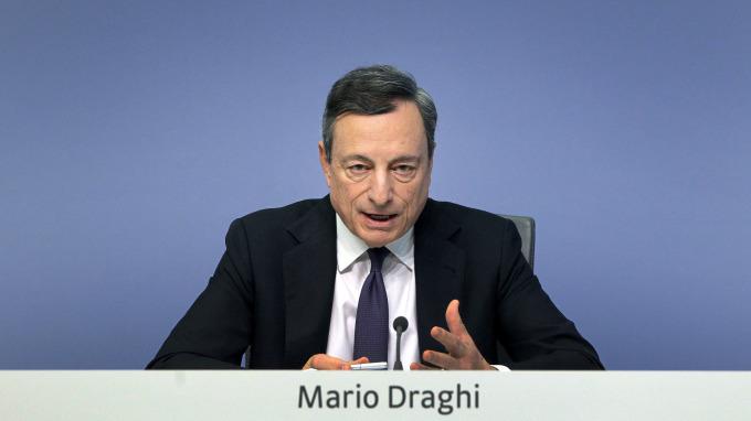 歐洲央行總裁Mario Draghi(圖:AFP)