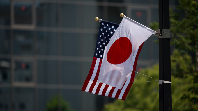 日本對美貿易順差擴大(圖:AFP)