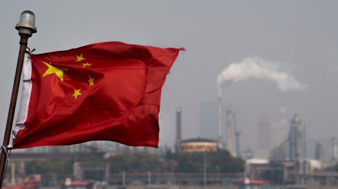 中國人民幣貶破6.8關卡(圖:AFP)