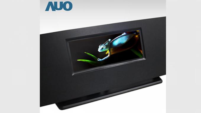 友達先前發表全球最高解析度全彩主動式Micro LED顯示技術。(圖:友達提供)
