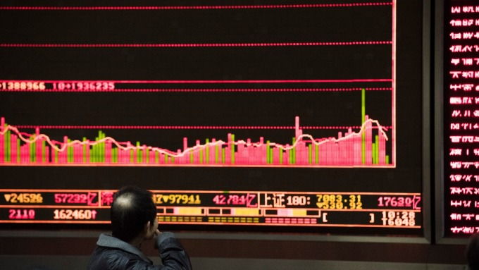 A股動盪漸歇(圖:AFP)