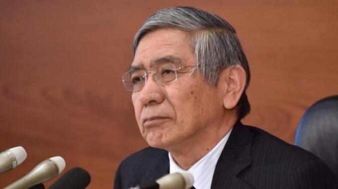 日本央行總裁黑田東彥 Haruhiko Kuroda 圖片來源:afp