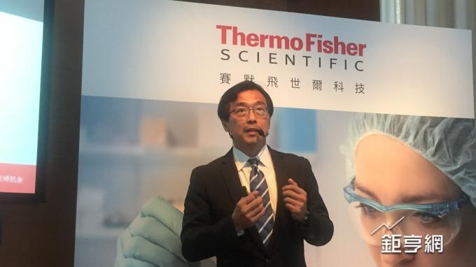 賽默飛世爾科技、台灣層析暨質譜商業總監黃忠智。(鉅亨網記者黃雅娟攝)