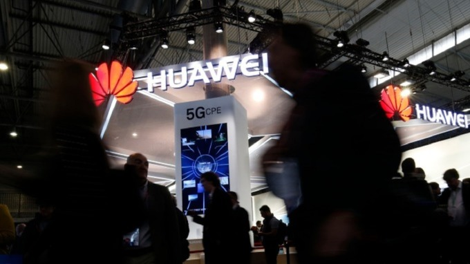 華為第二季中國手機市占持續奪冠。(圖:AFP)