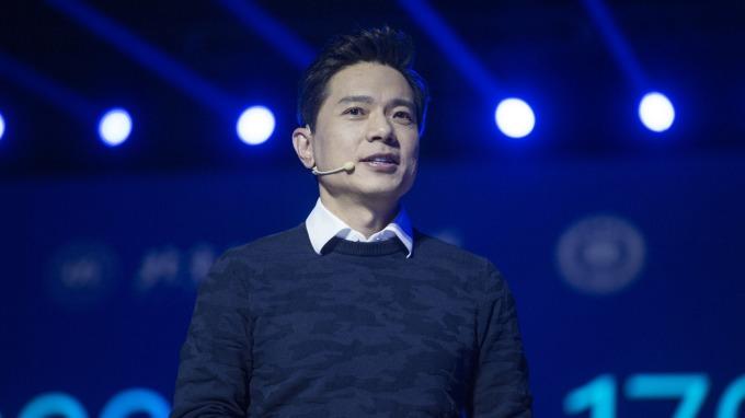 百度CEO李彥宏。(圖:AFP)