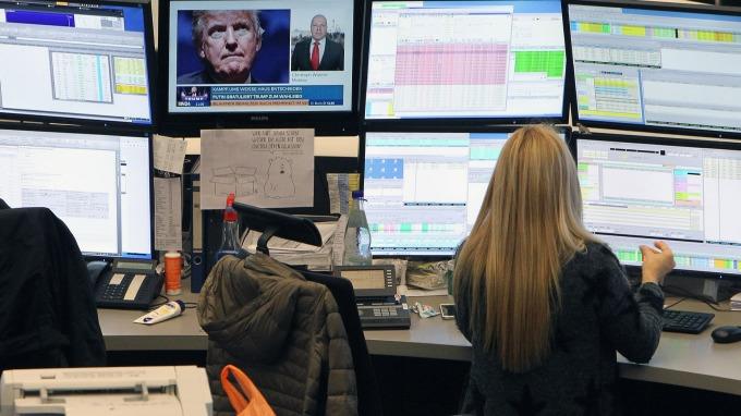 圖:AFP  企業財報利多 歐洲股市週二收高