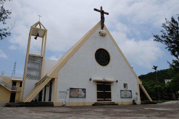 九澳的七苦聖母小教堂造型獨特
