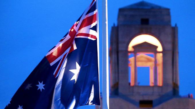 澳洲國旗(圖:AFP)