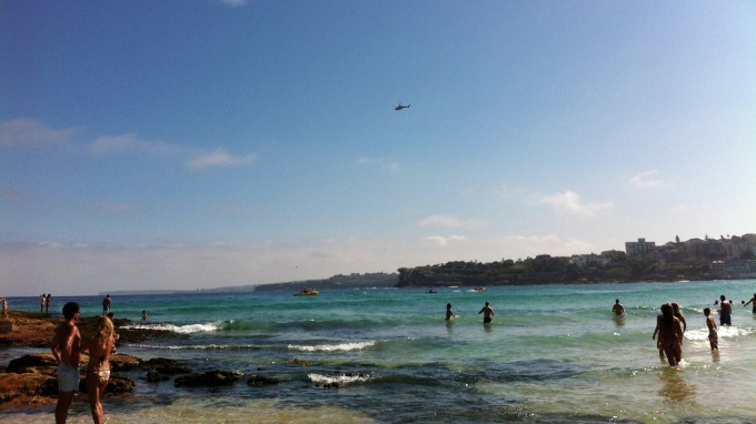首個區塊鏈債券 bond-I 參考澳洲雪梨著名海灘 Bondi Beach來命名。(圖:AFP)