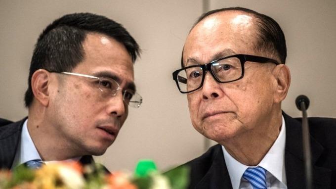 李澤鉅今年5月從父親李嘉誠手中接棒。 (圖:AFP)