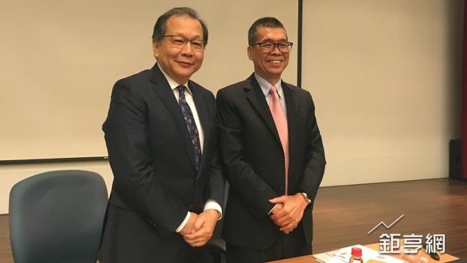 聯發科執行長蔡力行(左)。(鉅亨網資料照)