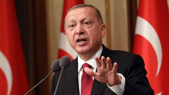 土耳其總統Tayyip Erdogan。(圖:AFP)