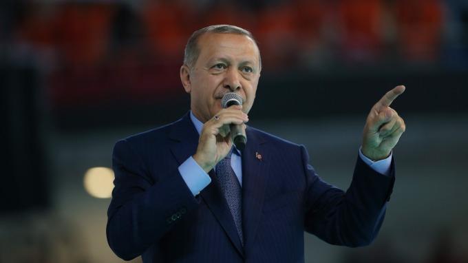 土耳其總統 Tayyip Erdogan。(圖:AFP)