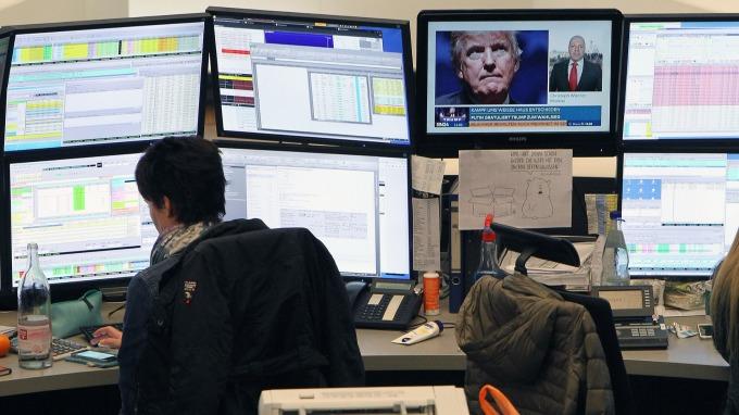 圖:AFP  歐洲股市週五下跌