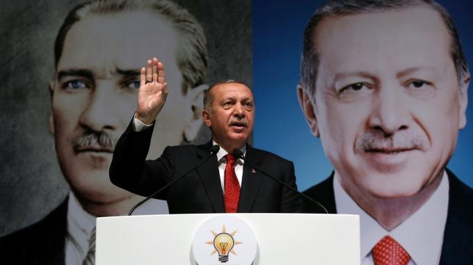 土耳其總統Tayyip Erdogan (圖:AFP)
