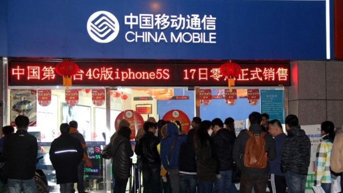 傳中移動有意分拆咪咕和物聯網上市。 (圖:AFP)