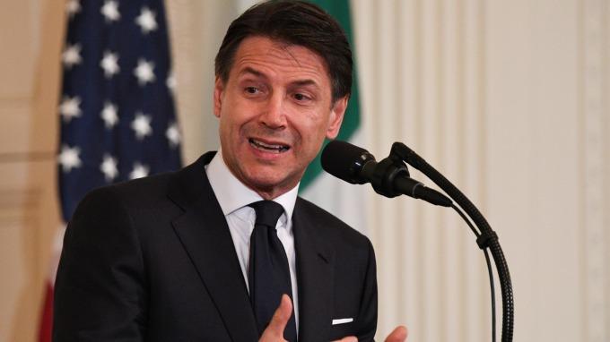 義大利總理孔蒂上週表示,明年政府預算將會「嚴肅、嚴謹又勇敢」,引發投資人疑慮。(圖:AFP)