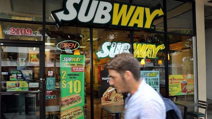 Subway 是全球最大連鎖餐廳      (圖:AFP)