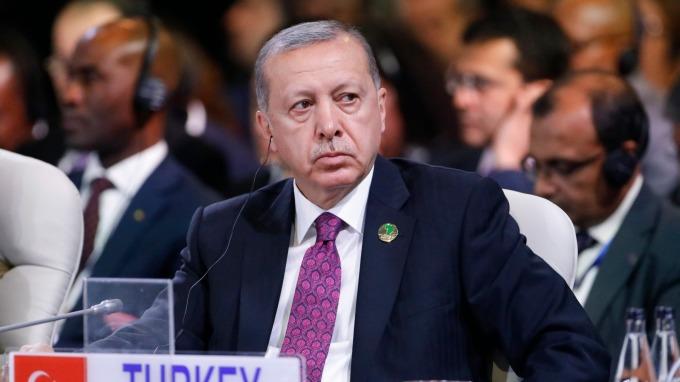 土耳其總統艾爾段(Tayyip Erdogan)。(圖:AFP)