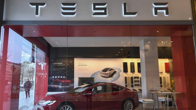 特斯拉周產8000輛Model 3不是夢。(圖:AFP)