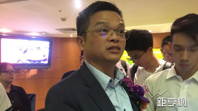 金可-KY今日舉辦法說會,由財務長張泰榕說明第2季營運狀況。(鉅亨網記者黃雅娟攝)