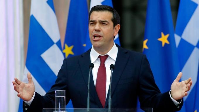 希臘總理齊普拉斯(圖:AFP)