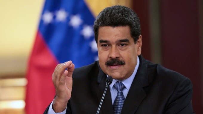 圖:AFP  委內瑞拉總統馬杜洛