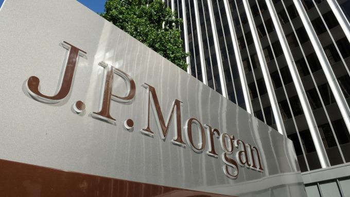 摩根大通推新款投資APP。(圖:AFP)