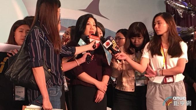 六福董事長莊豐如今日露面參加「世界無翅宣言」記者會。(鉅亨網記者王莞甯攝)