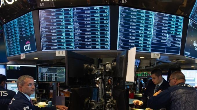美股示意圖。(圖:AFP)