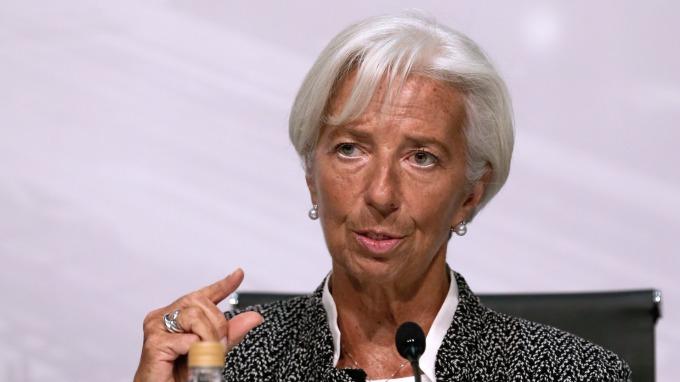 圖:AFP  IMF總裁拉加德
