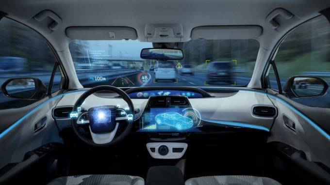 AI 智慧汽車 (圖: Megatrends by HP)