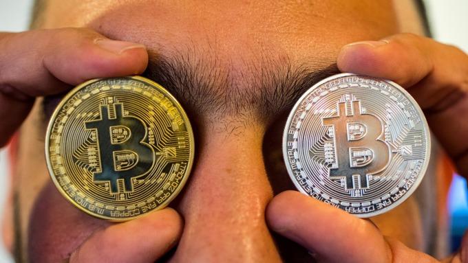 比特幣跌破6500美元。(圖:AFP)