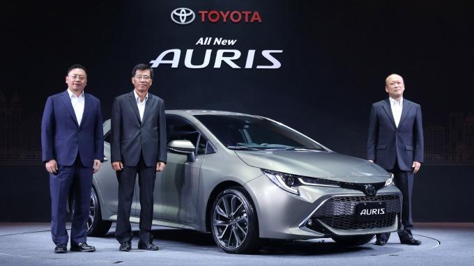和泰車新導入進口車AURIS,90萬元有找相當具競爭力。(圖:和泰車提供)